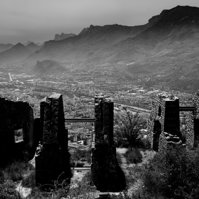 """Grenoble vistas"" stock image"