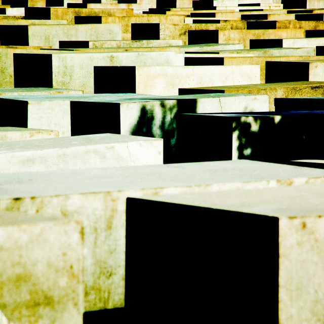 """Jewish monument, Berlin"" stock image"