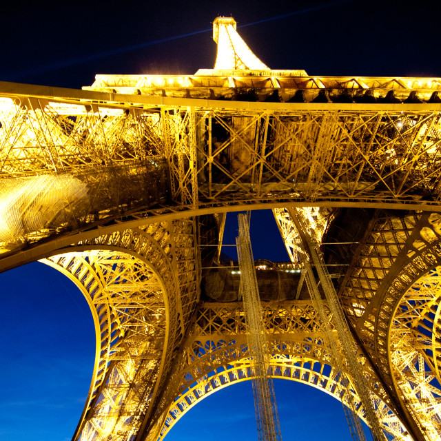 """Eiffel tower, Paris, France"" stock image"