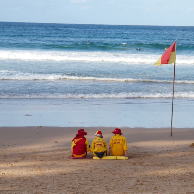 """""""Surf Rescue"""" stock image"""
