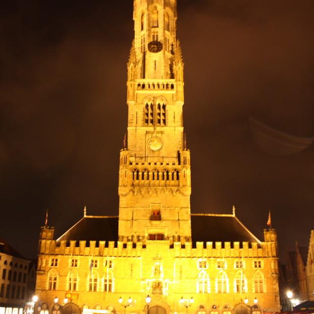 """""""Bruges Belfry"""" stock image"""