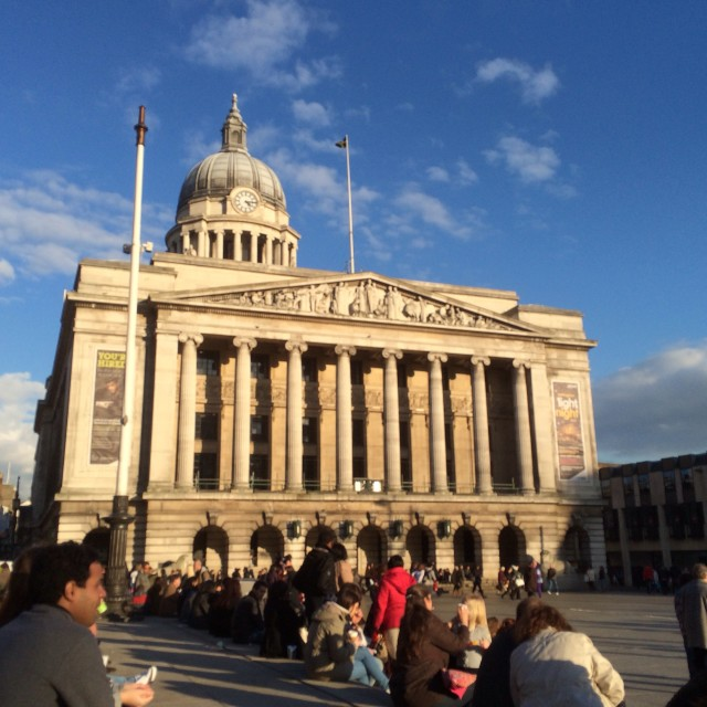 """Nottingham Council House!"" stock image"