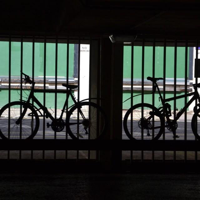 """""""Bikes"""" stock image"""