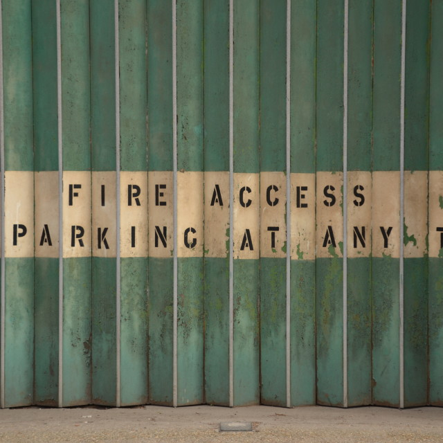 """Fire Access"" stock image"