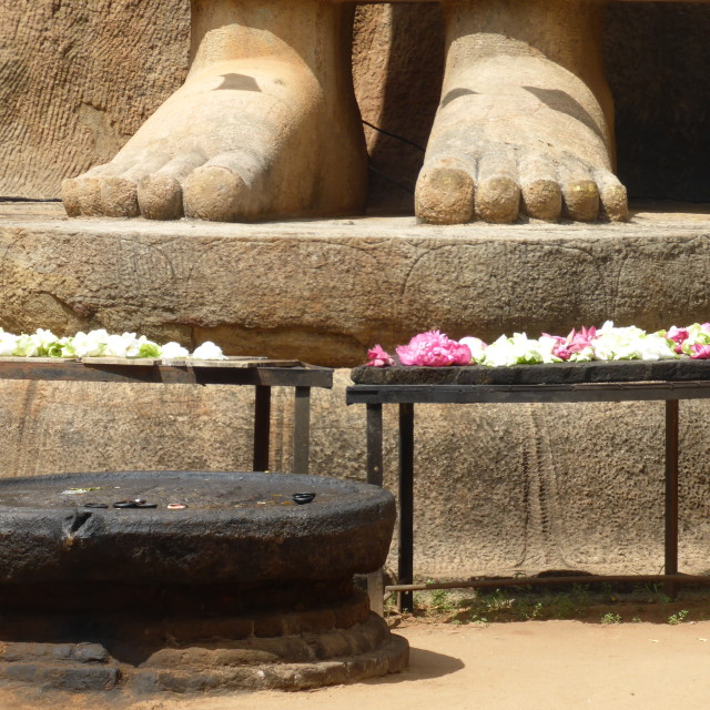 """Sri Lanka - Aukana Buddha"" stock image"