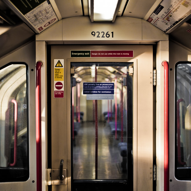 """""""Central Line"""" stock image"""