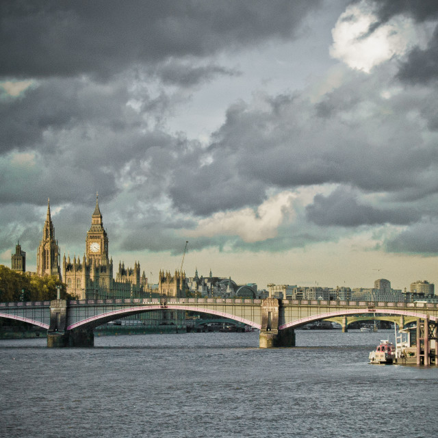 """A London Panorama"" stock image"