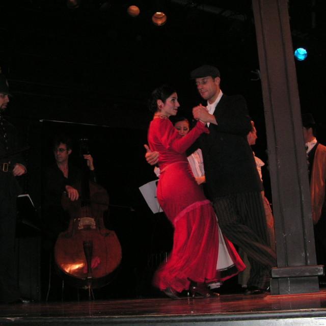 """Tango Dancers"" stock image"