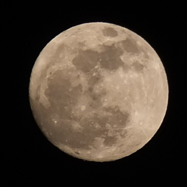 """Moon 15 March 2014"" stock image"