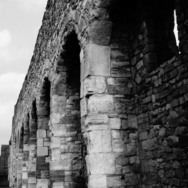"""Southampton old walls"" stock image"