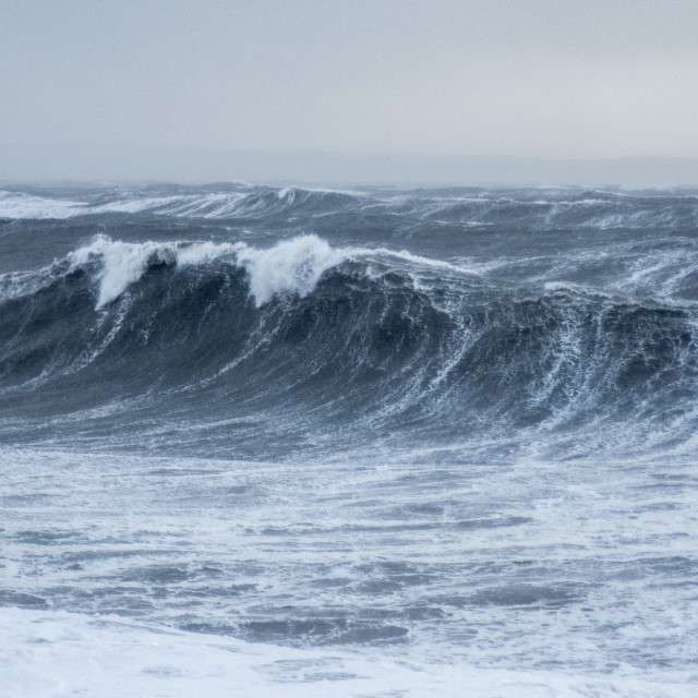 """Stormy Swell"" stock image"