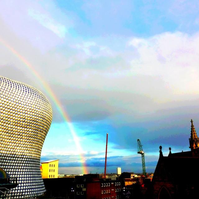 """Bullring Rainbow"" stock image"