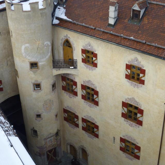 """Schloss Bruneck"" stock image"