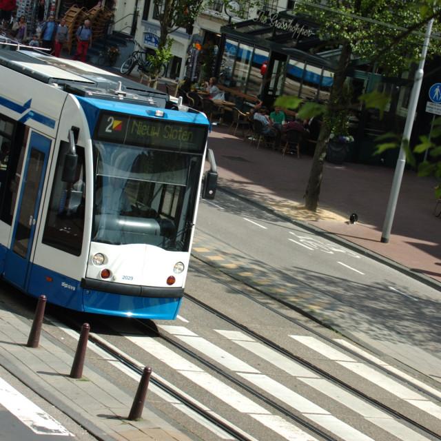"""Dam Tram"" stock image"