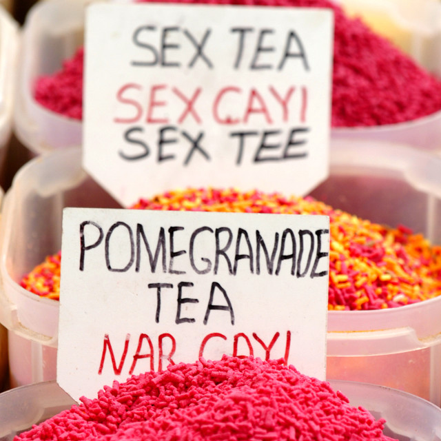 """Sex Tea"" stock image"