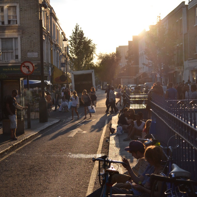 """""""Portobello Road"""" stock image"""