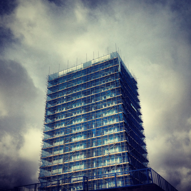 """Hackney skyscraper"" stock image"