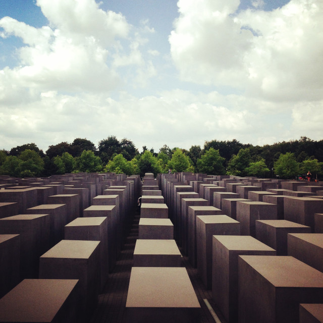 """Berlin Memorial"" stock image"