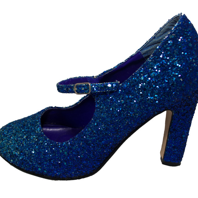 """Blue Shoe"" stock image"