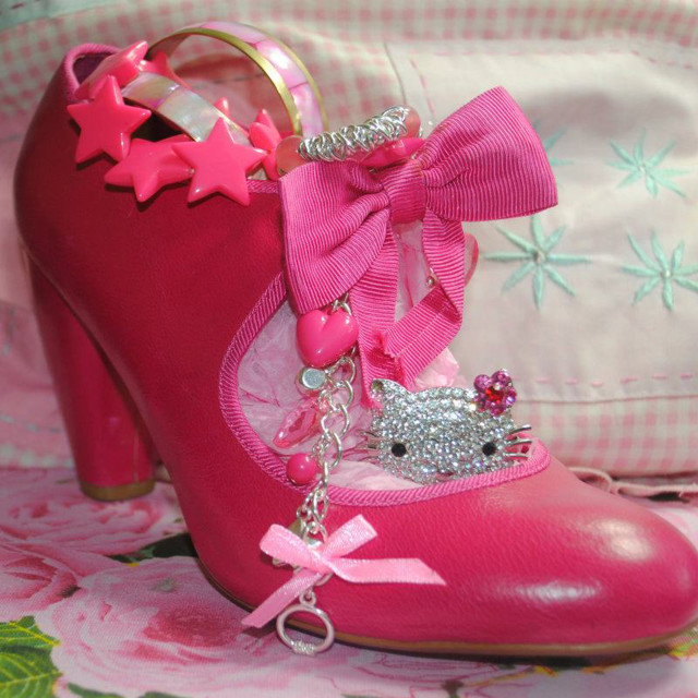 """Pink Shoe"" stock image"