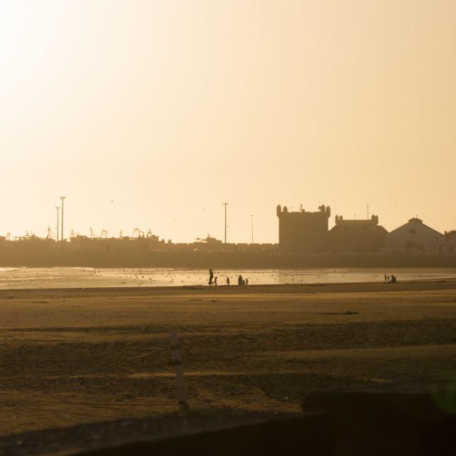 """Sunset Essaouira"" stock image"