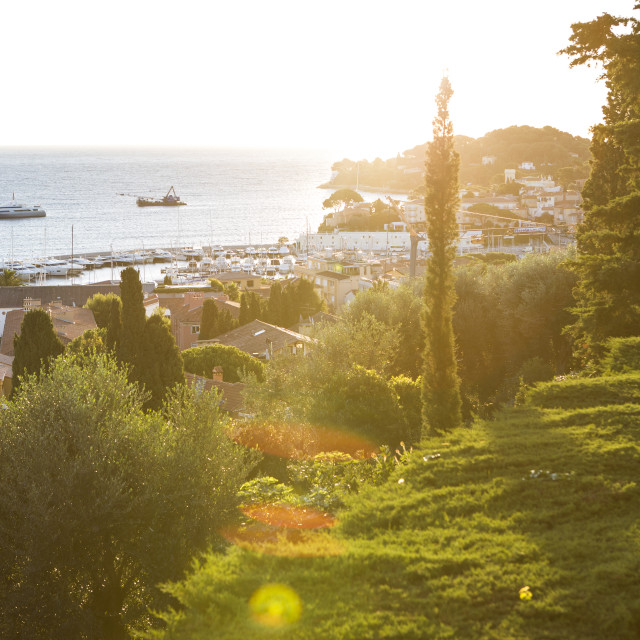 """Cap Ferrat South of France"" stock image"