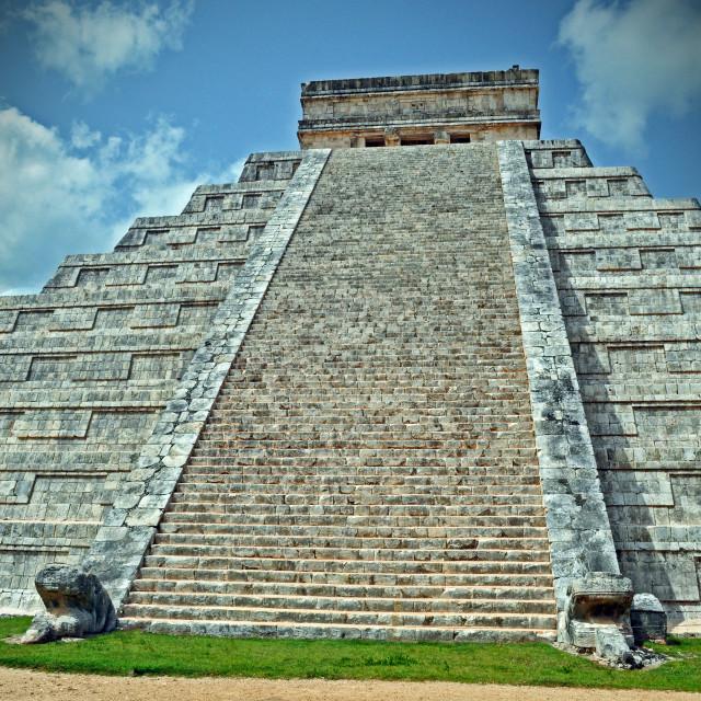 """""""El Castillo"""" stock image"""
