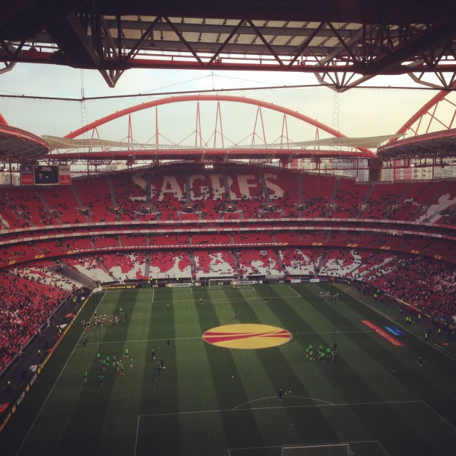 """Estadio da Luz"" stock image"