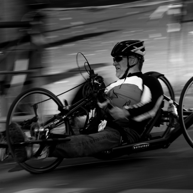 """Berlin marathon participant"" stock image"
