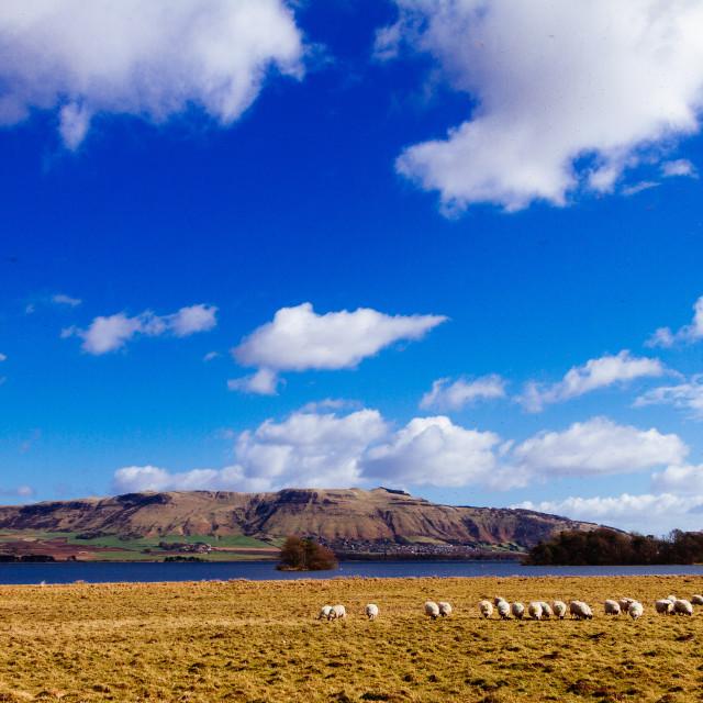 """Loch Leven landscape"" stock image"