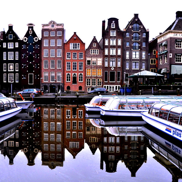 """City in a Canal"" stock image"