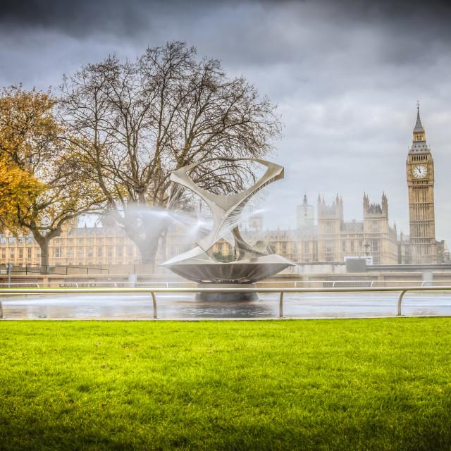 """""""Big Ben Landscape"""" stock image"""