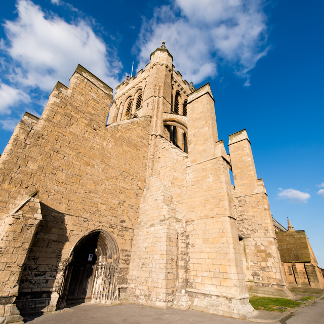"""St Hilda's Church Hartlepool"" stock image"