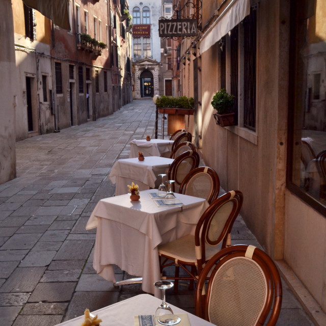 """Italian Dining"" stock image"