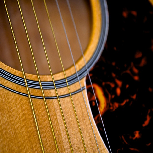 """Guitar Strings pt. 2"" stock image"