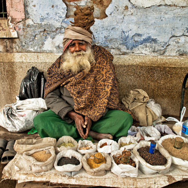 """THE SPICE TRADER"" stock image"
