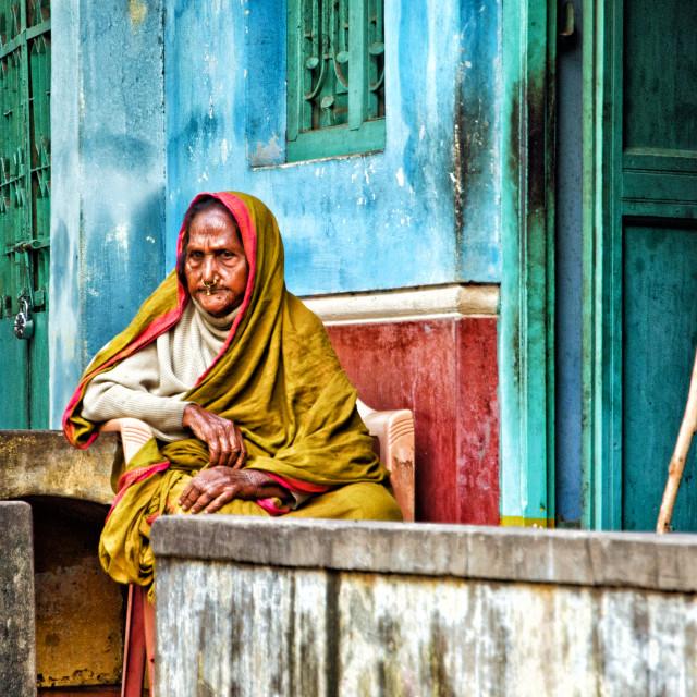 """VISHAKNAPATNAM WOMAN"" stock image"