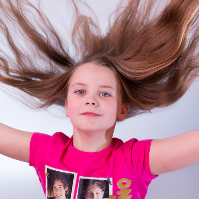 """Hair Raising"" stock image"