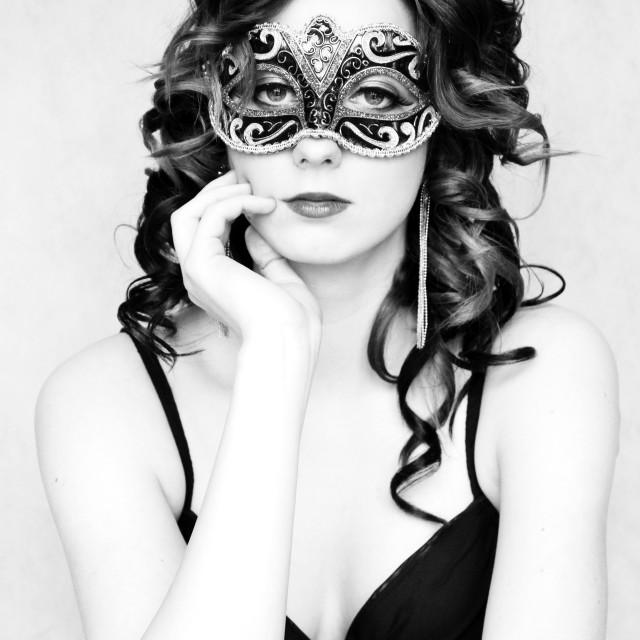 """""""Mask"""" stock image"""