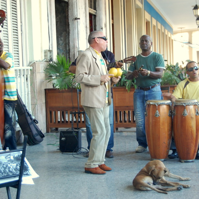 """Havana music - salsa band"" stock image"