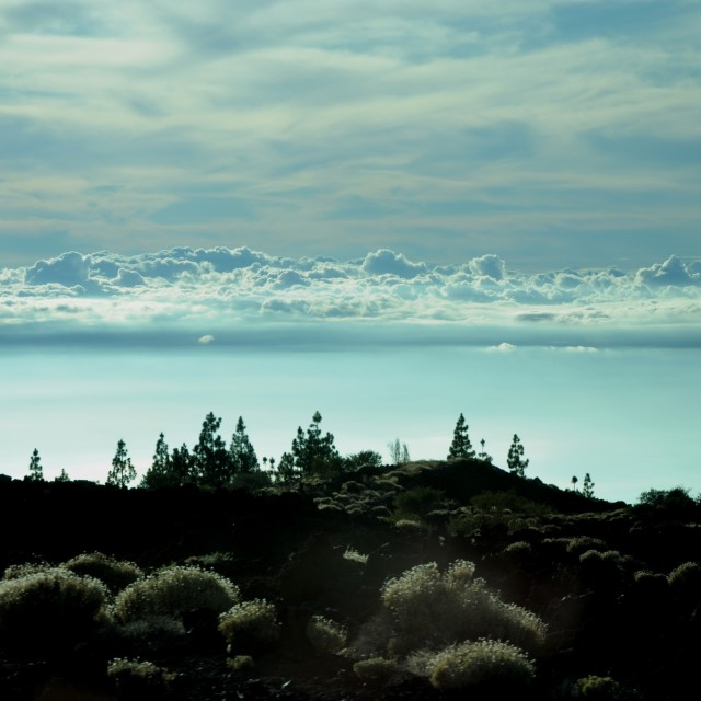 """Tenerife Cloudline"" stock image"