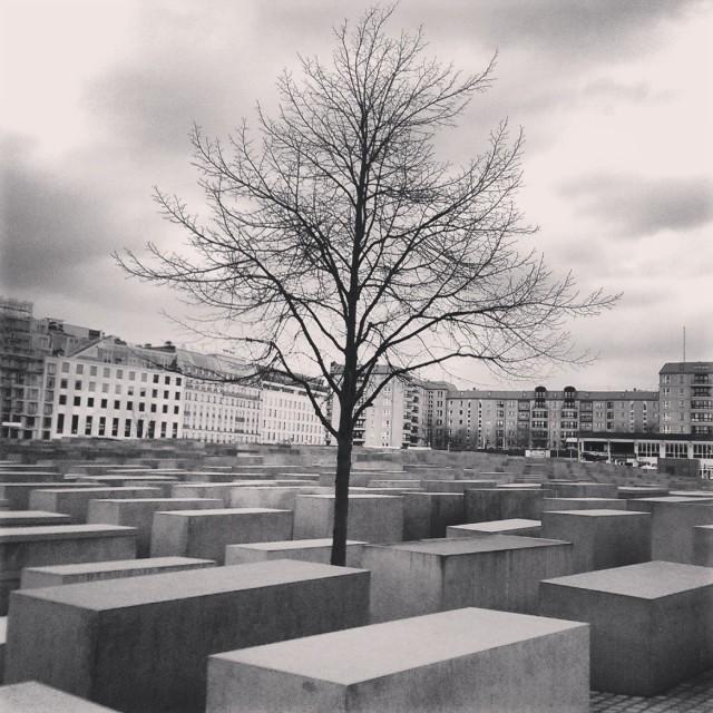 """""""Berlin, Holocaust Memorial"""" stock image"""