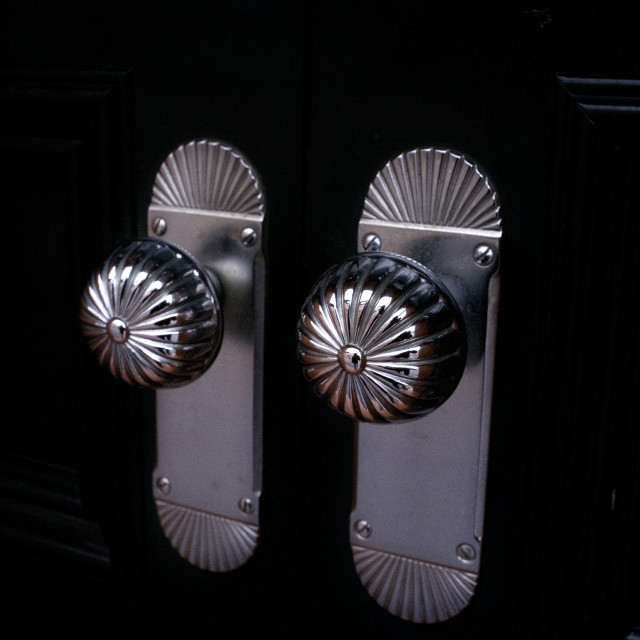 """Door Knobs"" stock image"