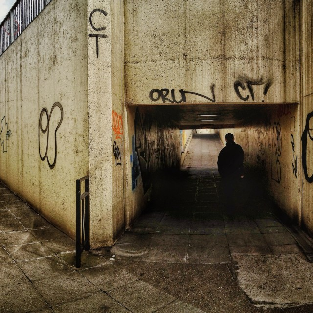 """Underpass"" stock image"