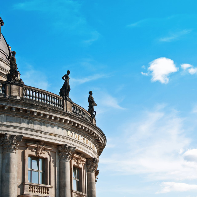 """""""BODE MUSEUM"""" stock image"""