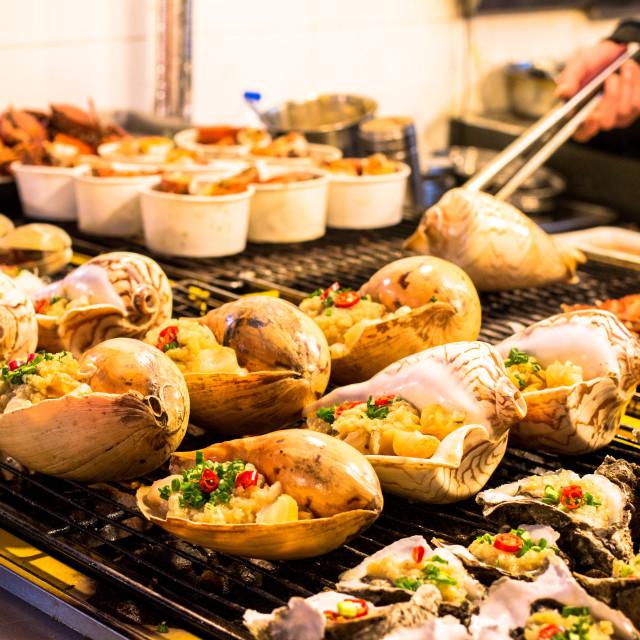 """Xiamen Seafood"" stock image"