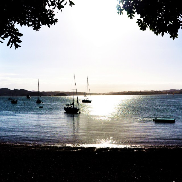 """Bay of Islands"" stock image"