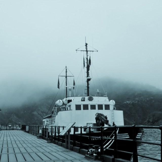 """Oldenburg In The Mist"" stock image"