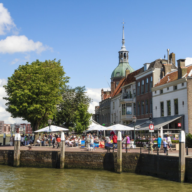 """""""Place DAry in Dordrecht"""" stock image"""