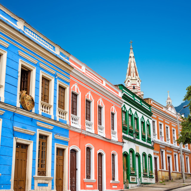 """Colorful Facades"" stock image"